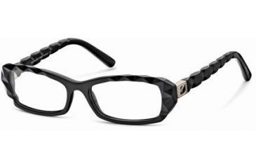 swarovski sk5007 eyeglass frames shiny black frame color