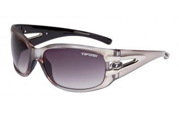 Tifosi Lust Bifocal Prescription Sunglasses - Crystal Metallic White Frame 0160404280