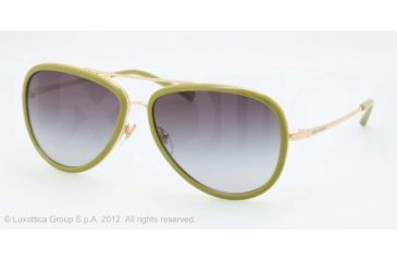 Tory Burch TY 6025 TY6025 Sunglasses 439/11-58 - Gold Lime