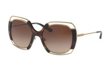 4a297121c9 Tory Burch TY6059 Sunglasses 313913-54 - Gold Tortoise Frame
