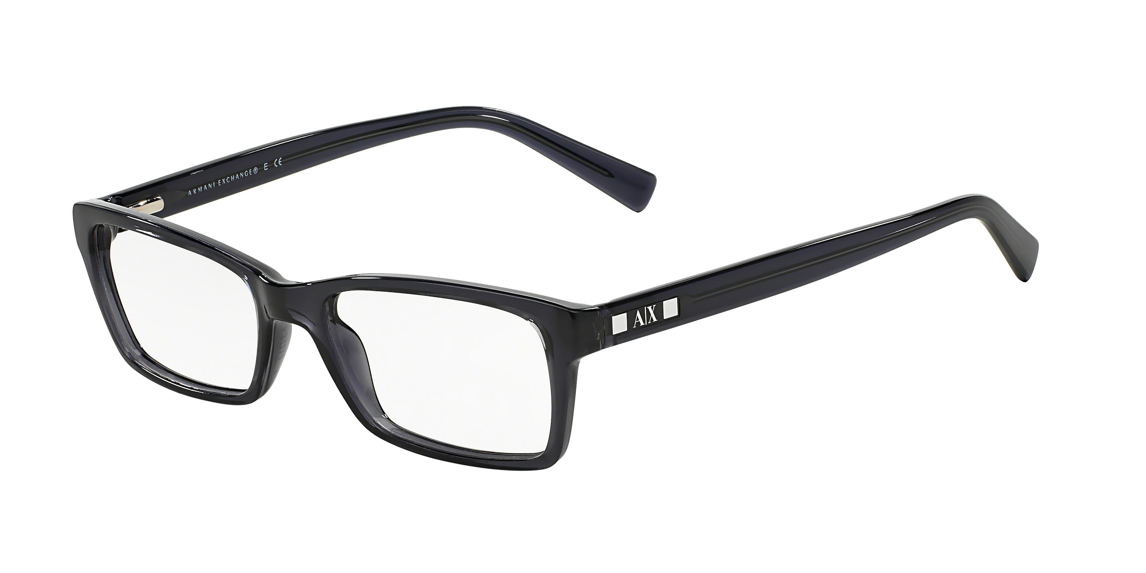 7fe35771754 Armani Exchange AX3007 Progressive Prescription Eyeglasses FREE S H  AX3007-8005-53-PRO