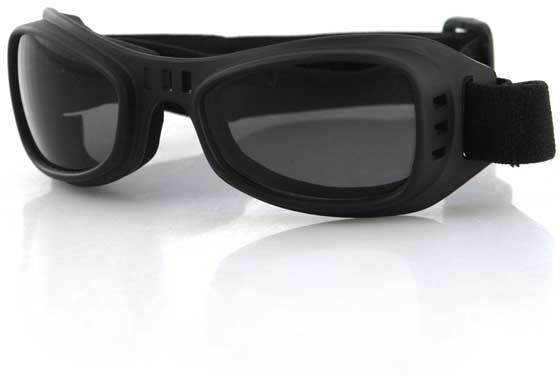775271bc378 Bobster Road Runner Goggles with Smoked Lenses BRR001 . Bobster  Military Tactical Goggles.