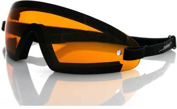e6b71ccececff Bobster Wrap Around Goggles with Black Frame BW201