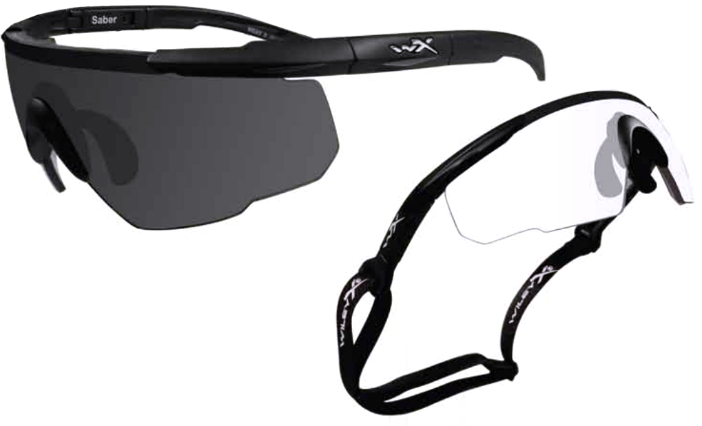 63af385cb30 Wiley X Saber Advanced X2 Eyeshields - 2 complete sets FREE S H 307. Wiley X  Changeable Series Shooting Glasses